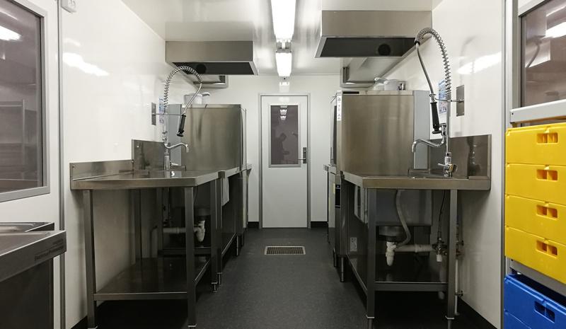 Dansk Mobil Køkken: Dishwashing unit B
