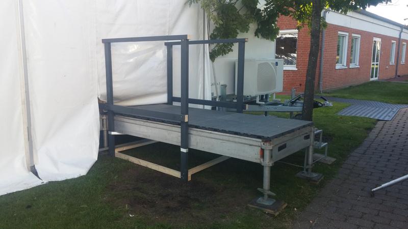 Dansk Mobil Køkken: Løsninger med telt og gulv